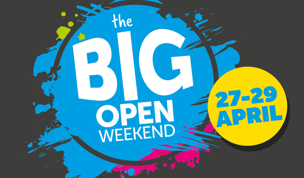 THE BIG OPEN WEEKEND
